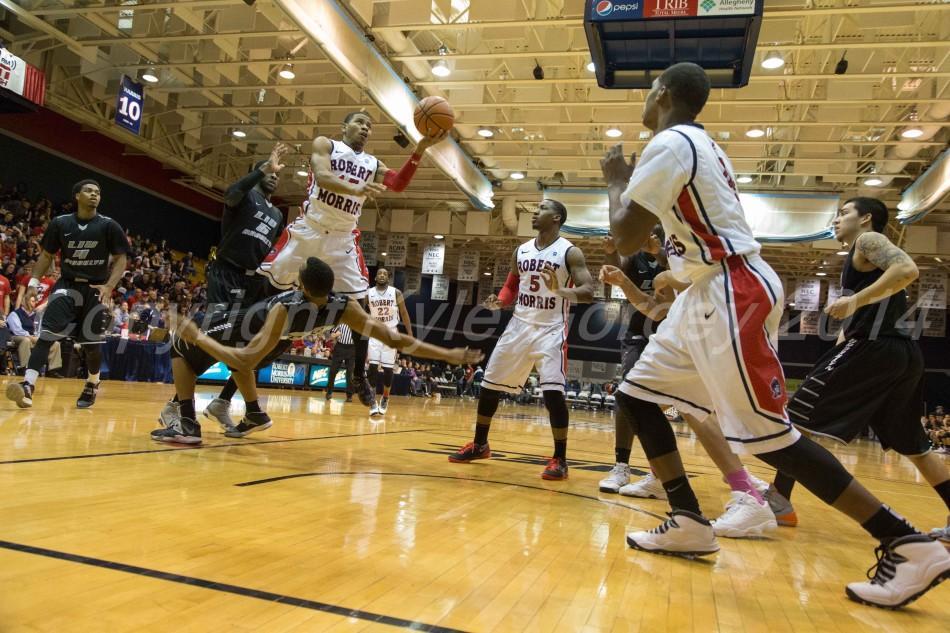 Anderson ignites RMU's victory run