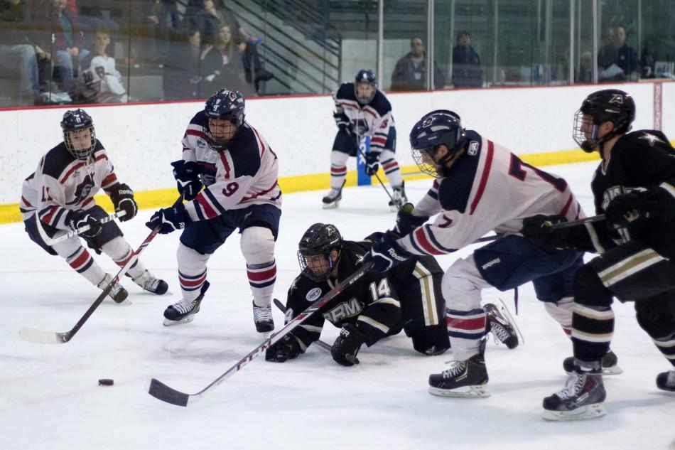 RMU defeated Michigan Saturday handing them their first loss of the season.