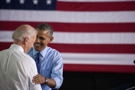 Obama and Biden applaud CCAC.