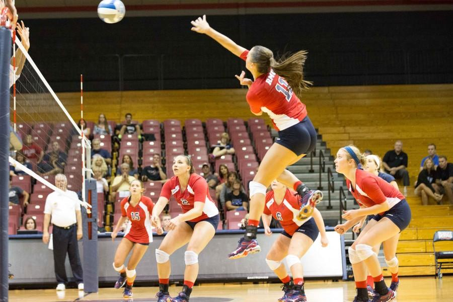 The Colonials dropped to 10-11 and 4-2 in conference play falling to Bryant Saturday