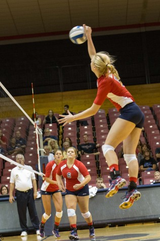 Betts had nine kills and three digs while stepping in for Arden Fisher against Youngstown State