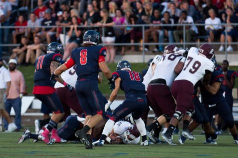 Lamica (8) and Stojkovic (11) have led the RMU defense through Week 2