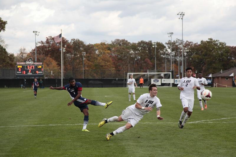 RMU failed to score a goal Friday falling to LIU Brooklyn 1-0.