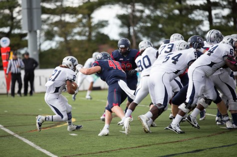 RMU VS. Monmouth football, homecoming 2014