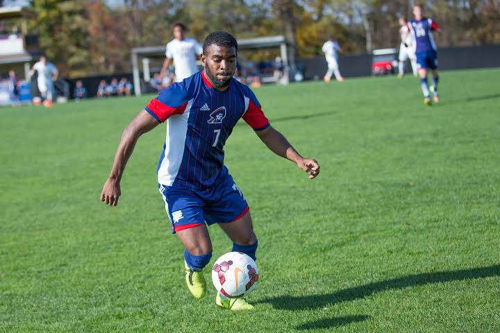 Carl Reid scored the second goal of the match in the 83rd minute Friday