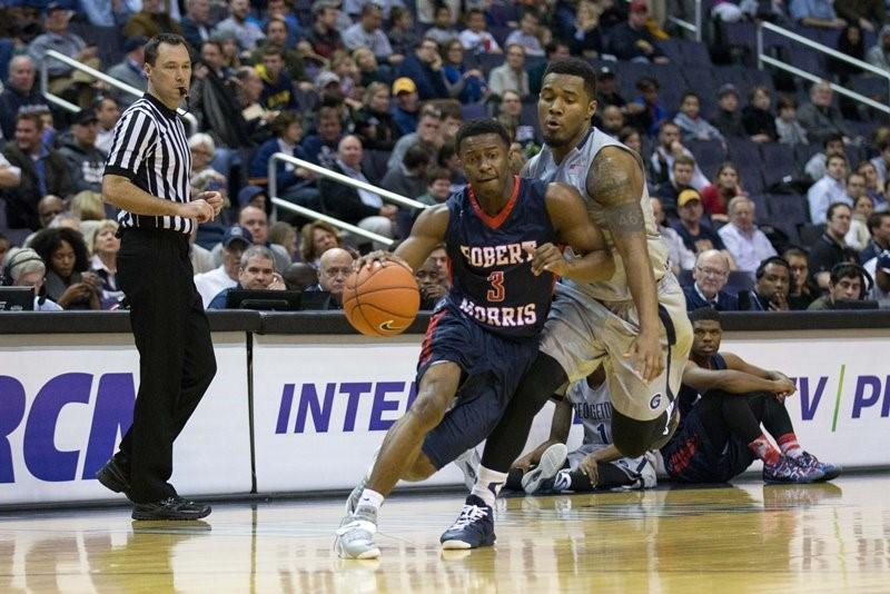 Five thoughts on RMU's 80-66 loss to Georgetown