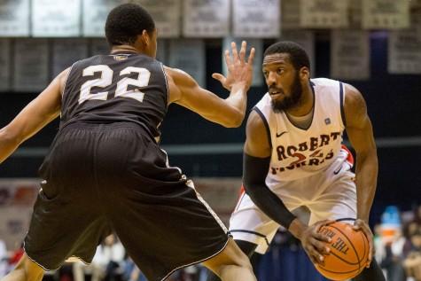 Jones, RMU enter home-stretch of NEC play