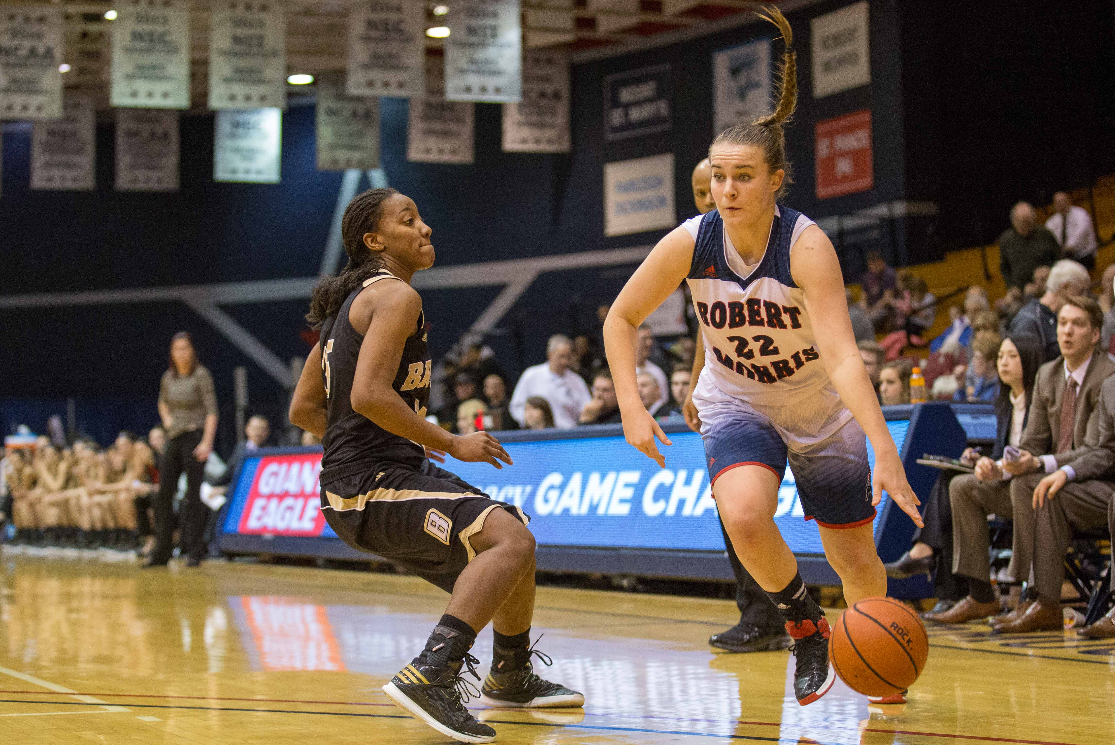 Megan Smith's 14 point performance jolted her team to a 30 point victory over Wagner Saturday.