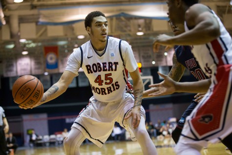 RMU men's basketball player arrested on the South Side, suspended by team