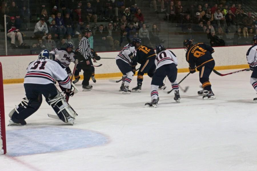 The+Colonials+improved+to+4-1-3+in+conference+play+after+defeating++Army+5-2+Saturday.