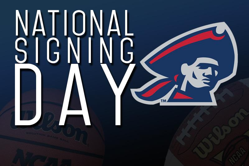 The RMU football team added 17 new players on National Signing Day.