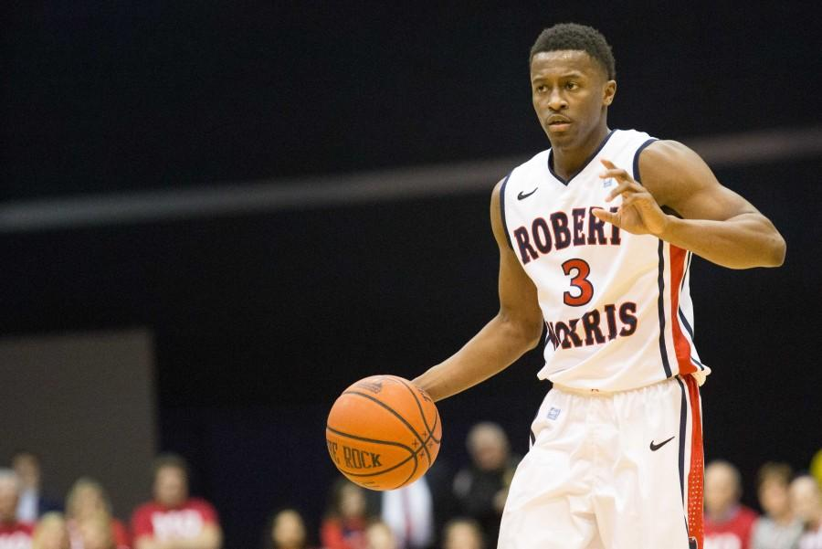 Kavon Stewart performed when it counted, sending RMU to the NEC Championship game.
