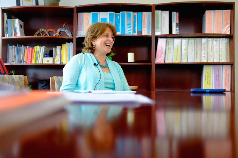 Annmarie LeBlanc, Dean of SCIS.