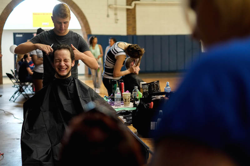 Hair-cut-a-thon tradition continues at RMU