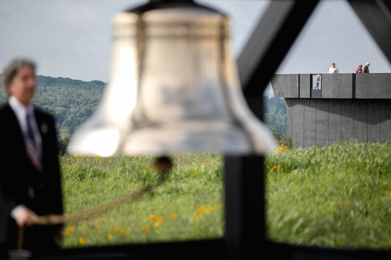 Flight 93 passengers' actions 'message of bravery, selflessness and heroism'