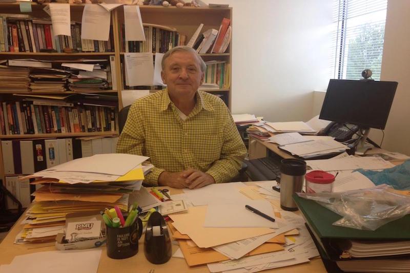 CIS+faculty+member+John+Turchek+celebrates+43+years+at+RMU