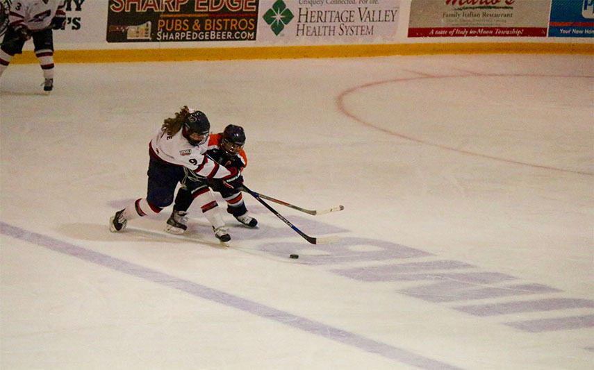 The Colonials couldn't pick up their tenth win Friday losing to the Lakers 4-1.