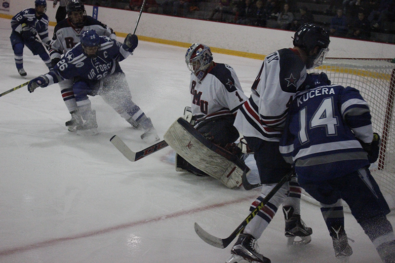 RMU tied with Niagara 3-3 Friday night in the opening game of the weekend series against the Purple Eagles.