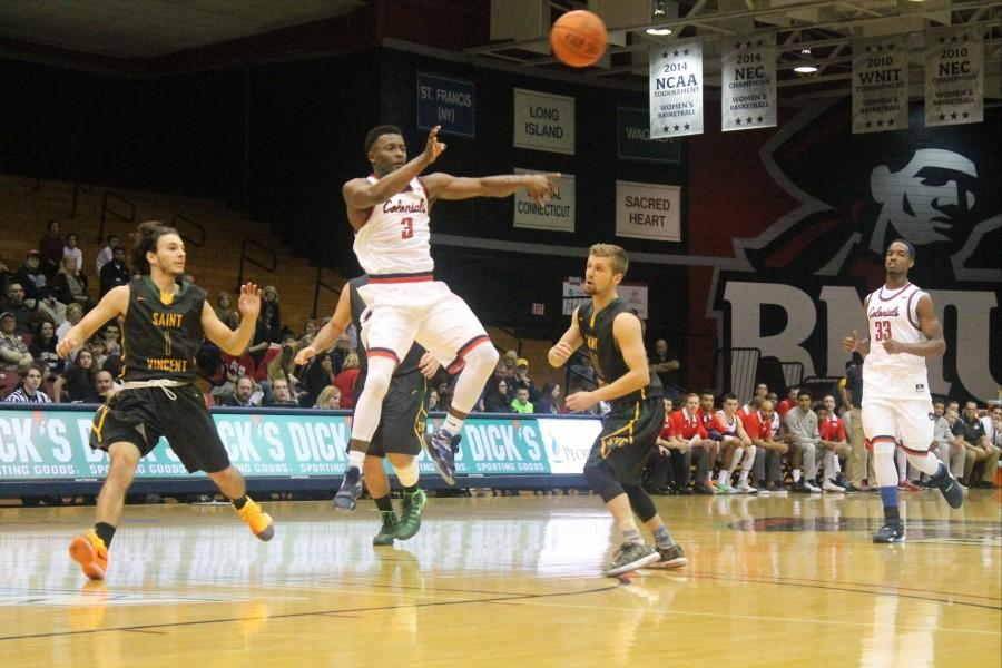RMU's second half comeback fell a few points short as they  drop their second straight game.