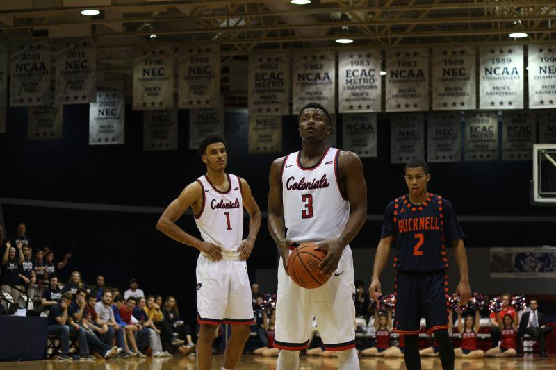 The Colonials were able to fend off the Blue Devils of CCSU Thursday for a 59-45 win on the road.