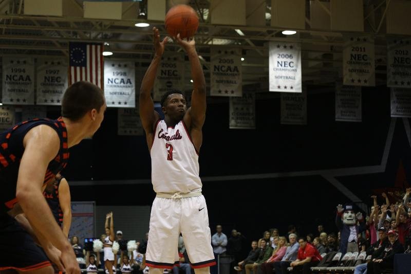 RMU fell to 1-2 in the conference after falling short to St. Francis Brooklyn on the road Saturday.