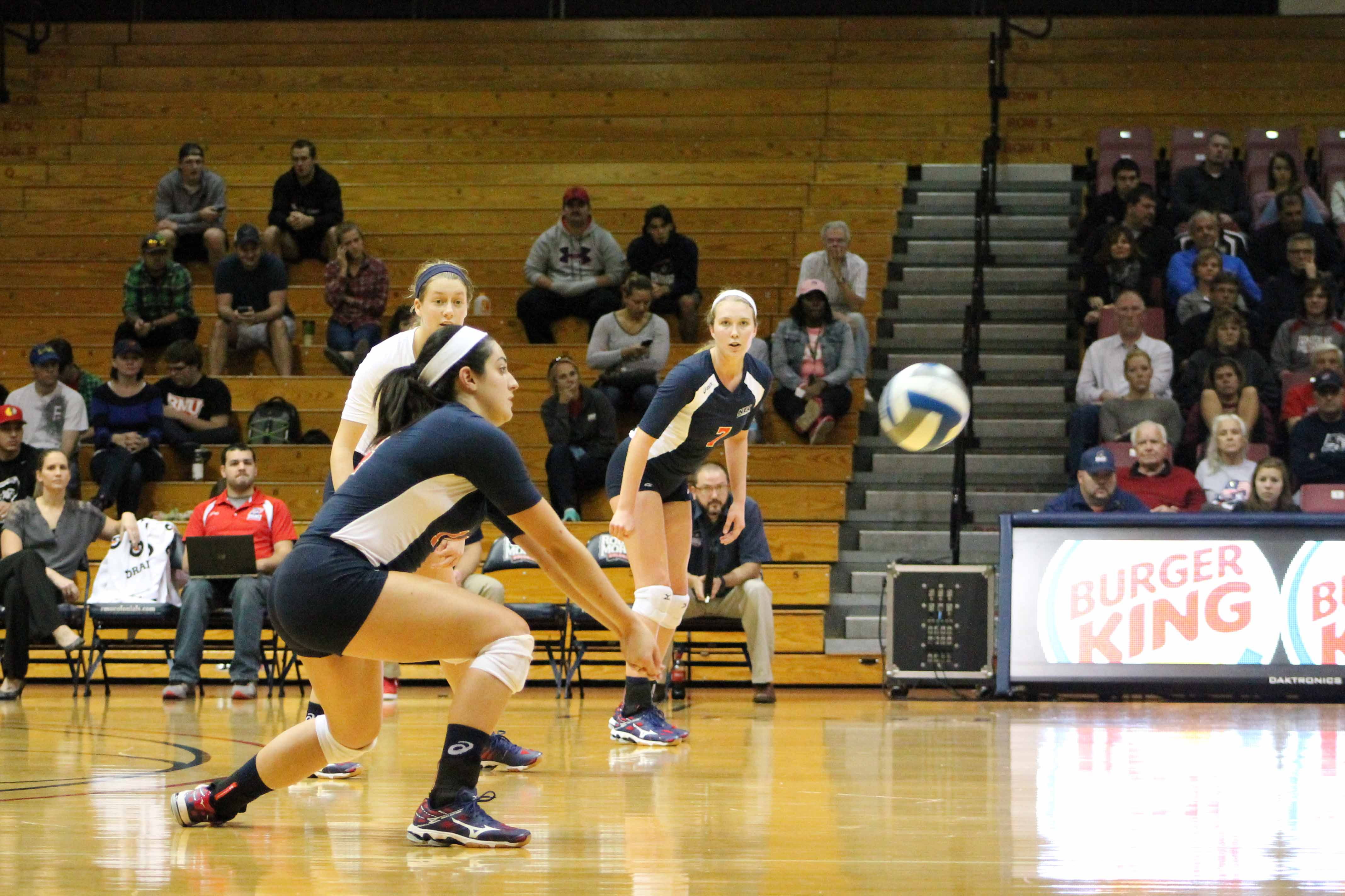 The Colonials fell on the road to Kent State Tuesday 3-0, ending their three game winning streak.