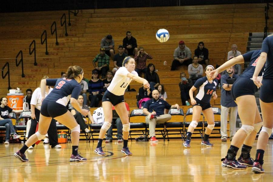 The Colonials couldn't savage a set win Saturday losing their final game in the Panther Challenge 3-0 to Pitt.