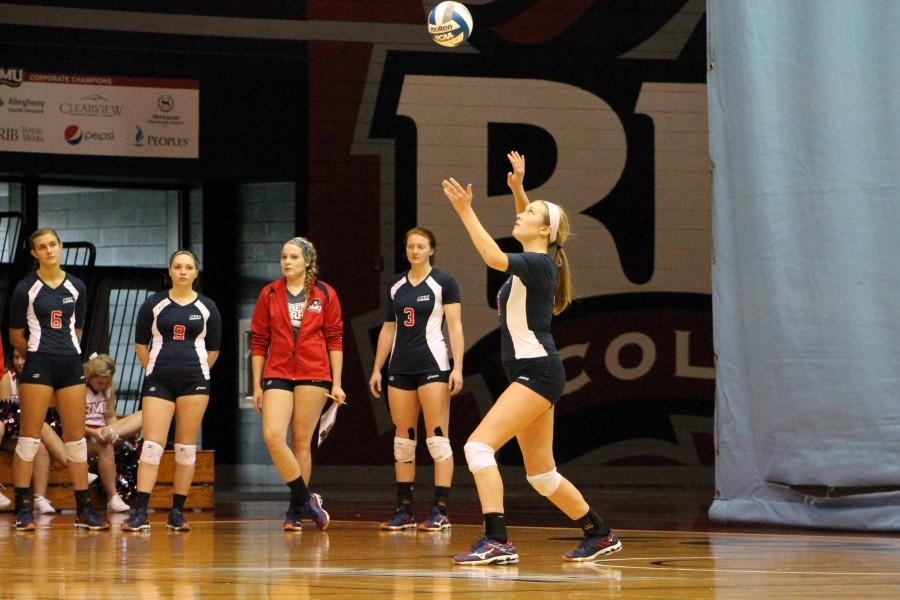 The Colonials earned the five set match triumph Saturday defeating Sacred Heart 3-2 on the road.