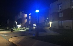 Blue light emergency phones light the way