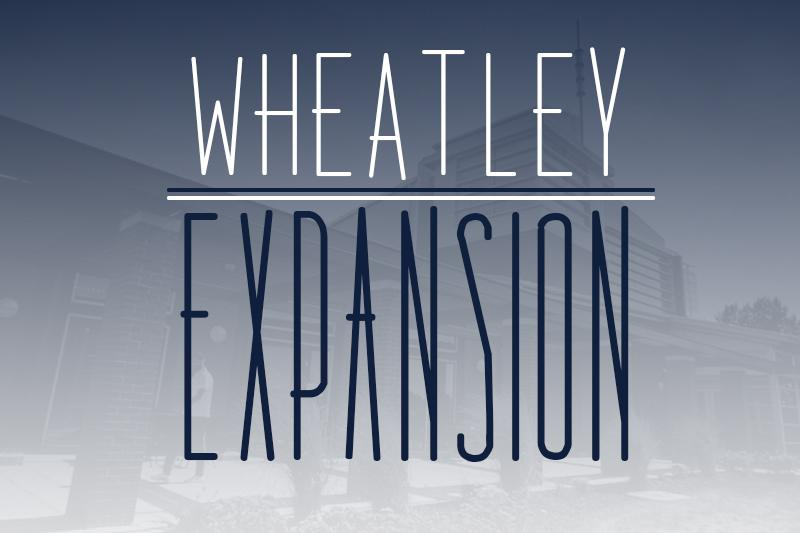 Wheatley+Center+is+designed+for+expansion