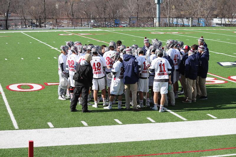 The+Colonials+improved+to+2-0+in+NEC+play+Saturday+after+their+11-9+victory+over+The+Mount.