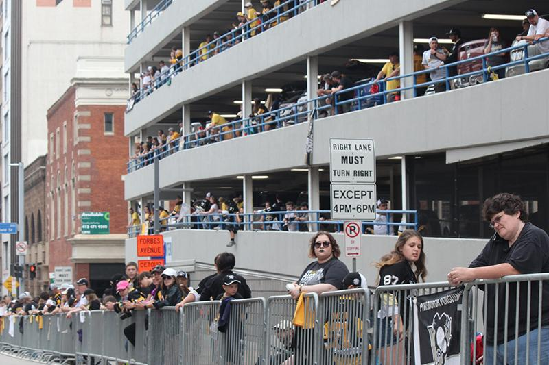 Fans began filing the streets of Pittsburgh as early as 2 A.M. Wednesday morning to solidify a front row seat.