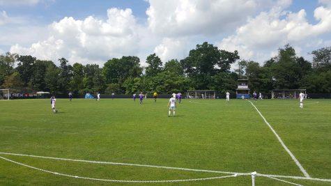 RMU men's soccer rebuild year begins with tough home loss
