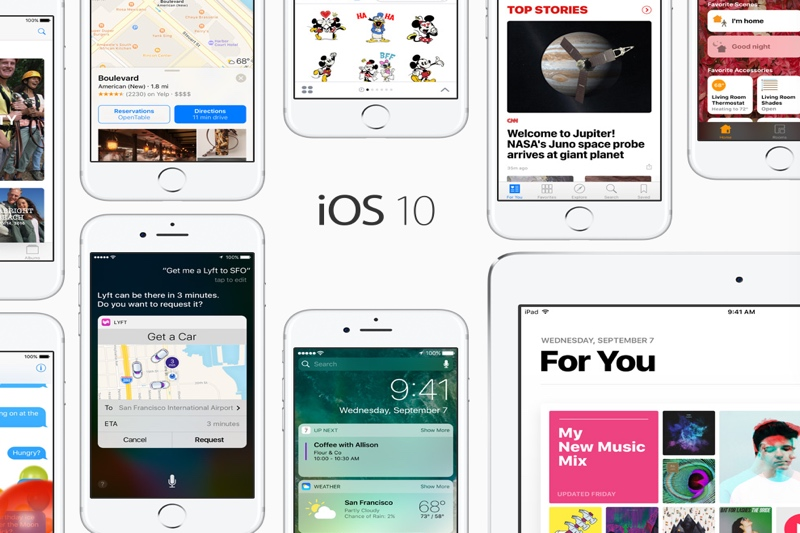 Looking Over iOS 10