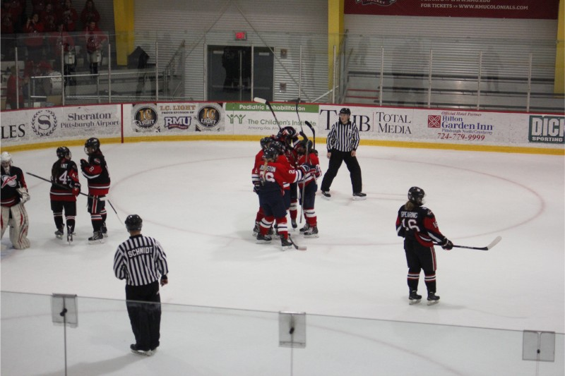 Women's Ice Hockey: RMU vs Toronto