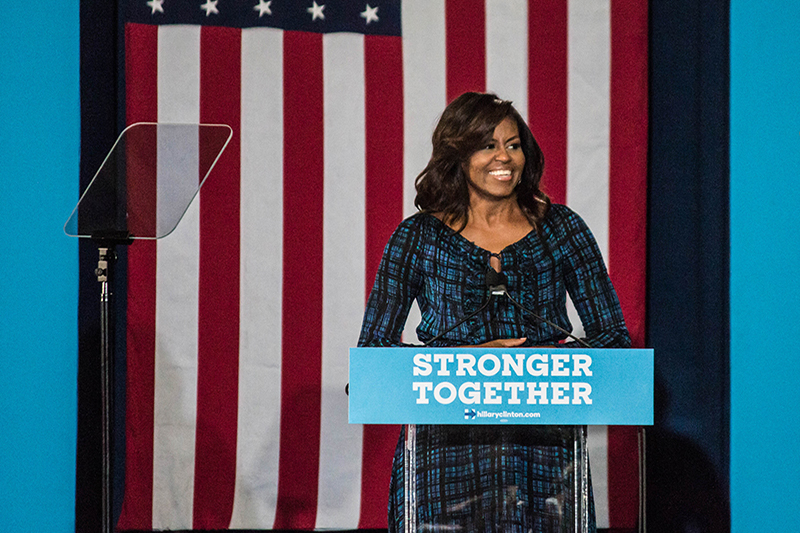 Michelle+Obama+Visits+PITT