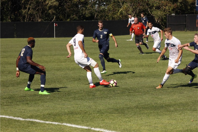 RMU didn't win or lose Saturday as their last game before NEC play ended in a 2-2 stalemate.