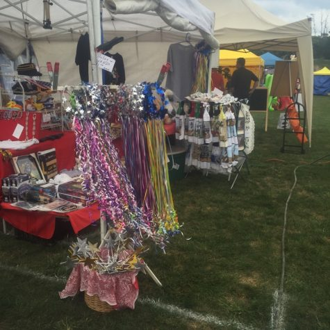 Vendors at the Fall Festival