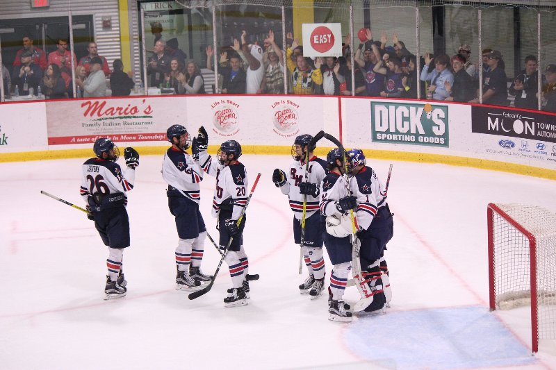 The+Colonials+rebounded+from+the+night+before+to+take+down+Bentley+and+savage+a+game+of+the+weekend+series.