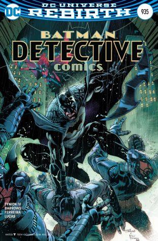 Detective Comics Cover