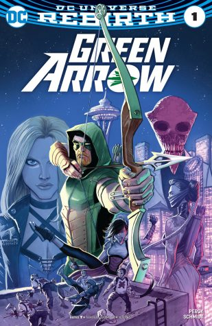 Green Arrow cover