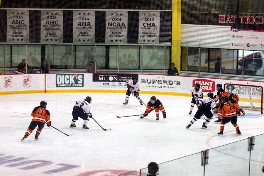 Women's Hockey: RMU vs Syracuse