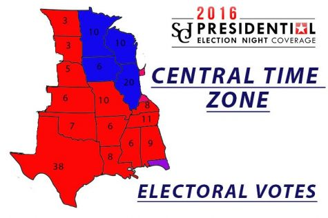 Central time zone electoral votes