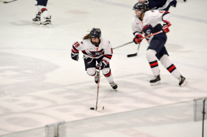RMU women's hockey to play Penn State in CHA semifinals