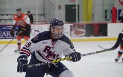 RMU men's hockey fights Air Force in weekend series