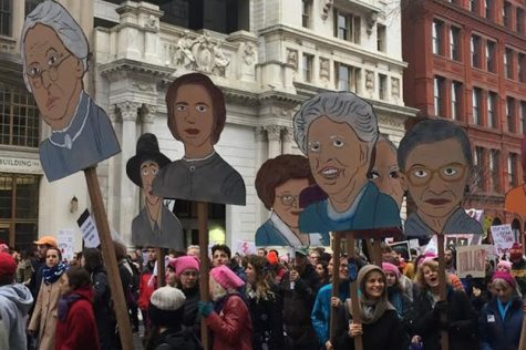 RMU makes its appearance at historical Women's March