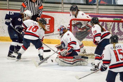RMU women's hockey roundup: RMU vs. Maine