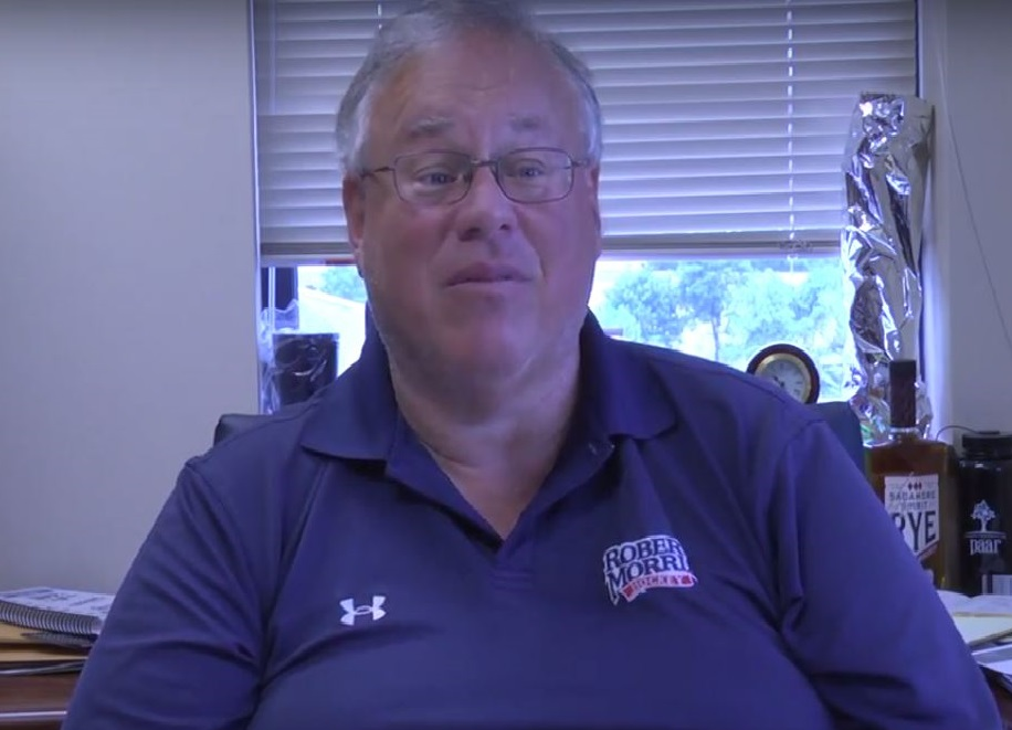 Athletic Director Dr. Craig Coleman discusses the importance of getting students to RMU Men's basketball games despite not having their home games on campus