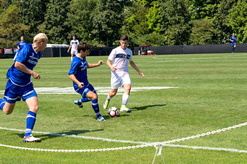 Lucas Puntillo leaves RMU Men's Soccer