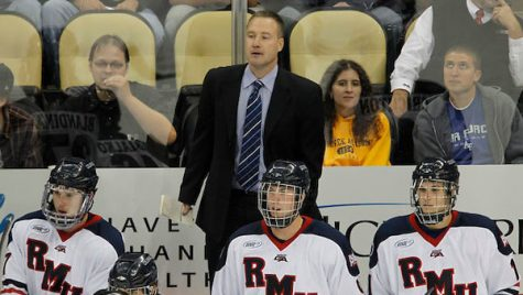 RMU men's hockey to face RIT in weekend series